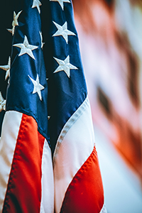 Veterans Day - American Flag